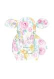 Floral Cow Prints by Pam Varacek