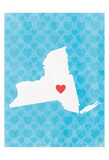New York Love Prints by Marcus Prime