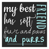 Best Friend Purrs Prints by Jelena Matic
