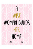 A Wise Woman Print by Kimberly Allen