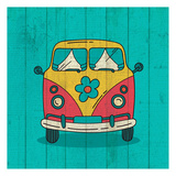 Groovy 3 Prints by Kimberly Allen