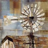Long Barn - Windmill Posters by Mark Chandon