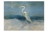 White Heron Posters by Sarah Butcher