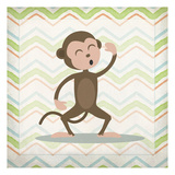 Monkey Time Prints by Kimberly Allen