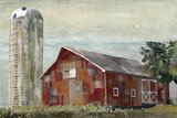 Barn Silo - Tulsa Poster by Mark Chandon