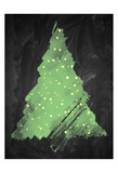 Chalkboard Tree 2 Posters by Victoria Brown