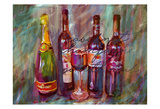 Wine Paint Posters by Sarah Butcher