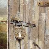 Long Barn - Barn Door Art by Mark Chandon