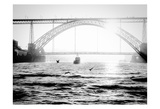 Portugal Porto BW Bridge Prints by Vladimir Kostka