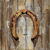 Long Barn - Horseshoe Prints by Mark Chandon