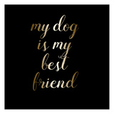 Best Friend Dog Posters by Jelena Matic