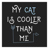 Cooler Cat Poster by Jelena Matic