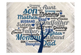 Family Tree B Prints by Kimberly Allen