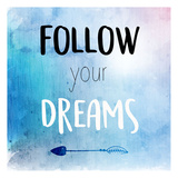Follow Posters by Kimberly Allen