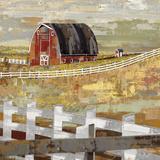 Long Barn - Paddock Posters by Mark Chandon