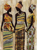 African Beauties Poster by Mark Chandon