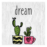 Cacti A Posters by Kimberly Allen
