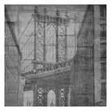 Manhattan Wall Prints by Sheldon Lewis