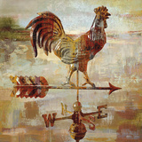 Long Barn - Weathervane Art by Mark Chandon