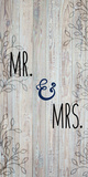 Mr and Mrs Prints by Kimberly Allen