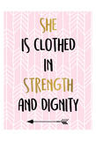 She Is Clothed Prints by Kimberly Allen