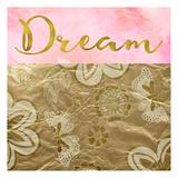 Dream Golden Flowers Prints by Taylor Greene