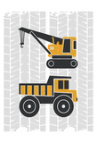 Build Explore 1 Posters by Kimberly Allen