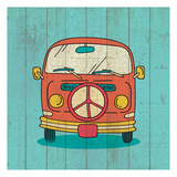 Groovy 2 Posters by Kimberly Allen