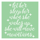 She Will Move Mountains Print by Jelena Matic