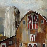 Long Barn - Silo Prints by Mark Chandon