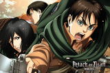 Attack On Titan - Season 2 Scouts Poster