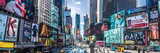 New York Times Square Panoramic Poster