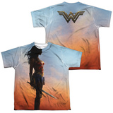 Youth: Wonder Woman Movie - Poster (Front/Back) T-shirts