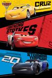 Cars 3 - Trio Kunstdrucke