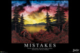 Bob Ross - Mistakes Posters by Bob Ross