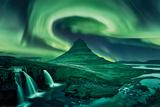 Aurora boreale Stampe