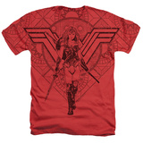 Wonder Woman Movie - Shield of Wonder Shirts