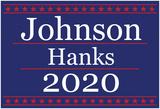 Johnson Hanks 2020 Poster