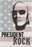 President Rock Poster
