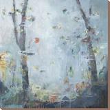 Liquid Garden Stretched Canvas Print by Noah Desmond
