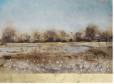 Rural Pasture Hand Embellished Canvas by Tim O'toole