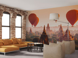 Bagan Ballooning - Non Woven Mural Wandgemälde