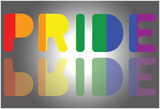 Pride Reflection Kunstdrucke