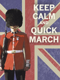 Keep Calm Brit II Giclee Print by  The Vintage Collection