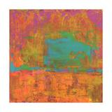 Hifi Abstract II Premium Giclee Print by Elena Ray