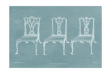 Design for a Chair IV Prints by Thomas Chippendale