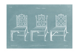 Design for a Chair I Posters by Thomas Chippendale
