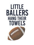 Little Ballers III Prints by  Studio W