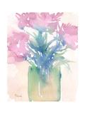 Pretty Pink Flowers II Reproduction giclée Premium par Samuel Dixon