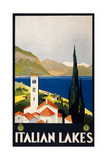 See Italian Lakes Poster by  Studio W